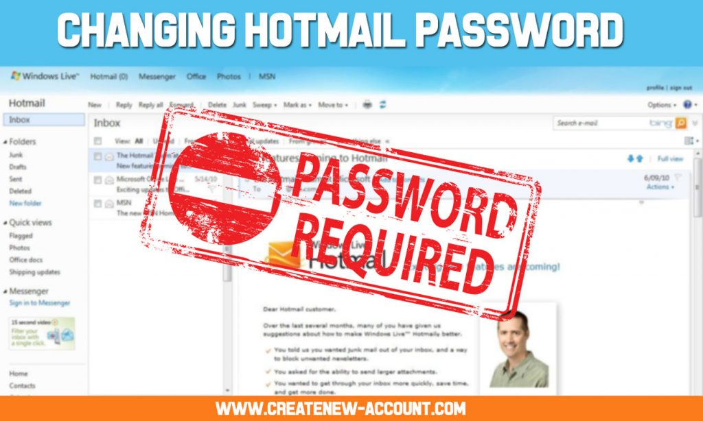 changing-hotmail-password