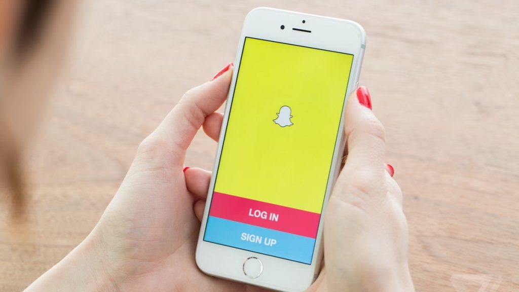 Create account Snapchat