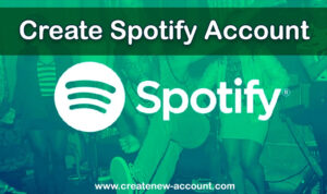 Create Spotify Account