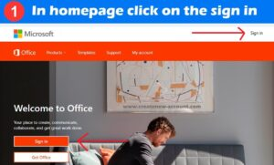 sign in office 365